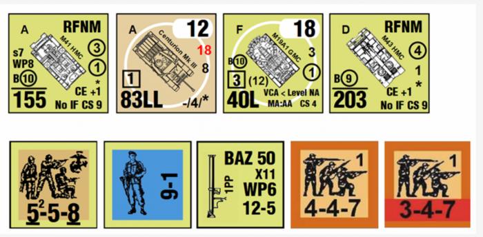 MMP Korean War draft counters