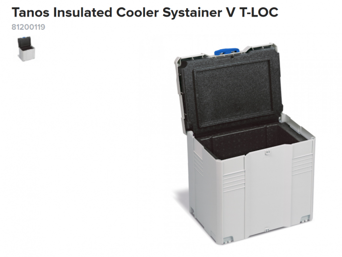 Screenshot_2019-10-14 Tanos Insulated Cooler Systainer V T-LOC